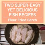 Two Super-Easy Yet Delicious Fish Recipes – Flour Fried Perch