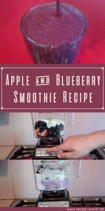 Apple & Blueberry Smoothie