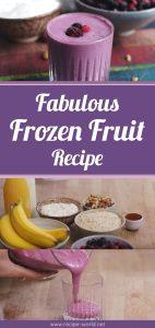 Fabulous Frozen Fruit Smoothie