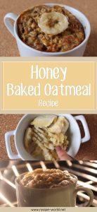 Honey Baked Oatmeal