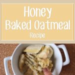 Honey Baked Oatmeal