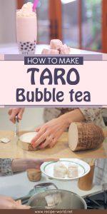 How To Make Taro Bubble Tea Smoothie Recipe
