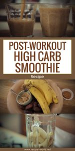 Post-Workout High Carb Smoothie