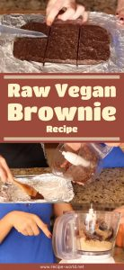 Raw Vegan Brownie Recipe