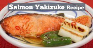 Salmon Yakizuke Recipe