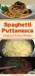 Spaghetti Puttanesca - Original Italian Recipe