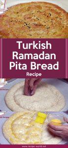 Turkish Ramadan Pita Bread Recipe