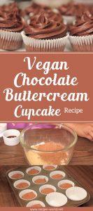 Vegan Chocolate Buttercream Cupcake Recipe