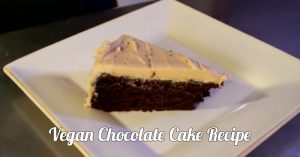 Vegan Chocolate Cake - Cooking With The Vegan Zombie