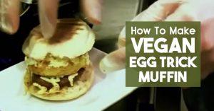 Vegan Egg Trick Muffin