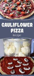 Cauliflower Pizza Recipe