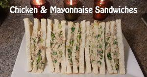 Chicken & Mayonnaise Sandwiches