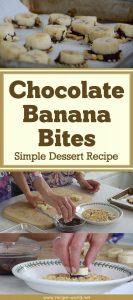 Chocolate Banana Bites - Simple Dessert Recipe