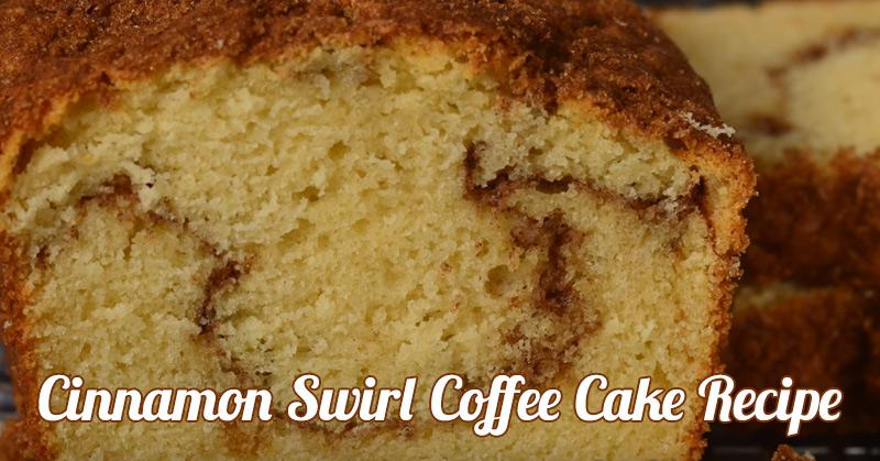 Recipe World Cinnamon Swirl Coffee Cake Recipe