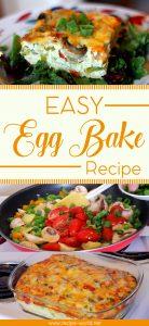 Easy Egg Bake Recipe