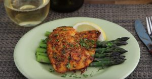 Fish Recipe - Parmesan Crusted Tilapia Fillets