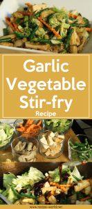 Garlic Vegetable Stir-fry