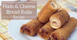 Ham & Cheese Bread Rolls