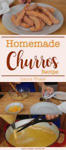 Homemade Churros Recipe - Laura Vitale