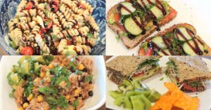 Lunch Ideas - My Favorite Vegetarian & Vegan Lunches