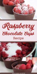 Raspberry Chocolate Cups Recipe