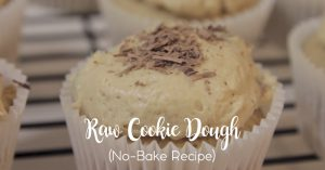 Raw Cookie Dough (No Bake!)