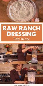 Raw Ranch Dressing - Easy Recipe