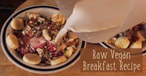 Raw Vegan Breakfast Recipe