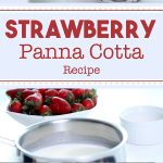 Strawberry Panna Cotta Recipe