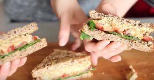 Vegan Chickpea Tuna Salad - Easy Healthy Lunch Ideas