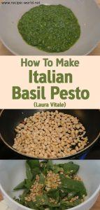 How To Make Italian Basil Pesto - Laura Vitale