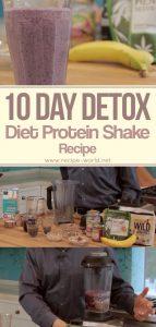 10 Day Detox Diet Protein Shake Recipe