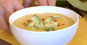 Creamy Carrot Soup - Raw Food Recipe