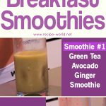 Fat Burning Breakfast Smoothies!