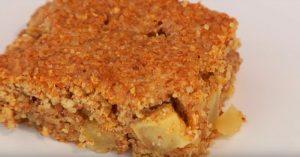 Gluten-Free Apple Snack Cake