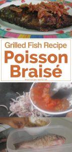 Grilled Fish Recipe: Poisson Braisé