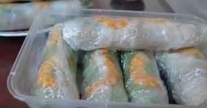 How To Make Vietnamese Fresh Spring Rolls