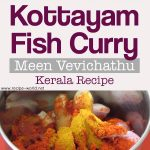 Kottayam Fish Curry – Meen Vevichathu – Fish Curry With Kudampuli – Kerala Recipe