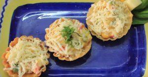 Quick Canapes Recipe (Vegetarian)