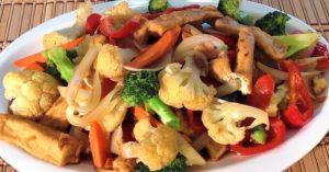 Stir Fry Tofu With Vegetables (Vegetarian)