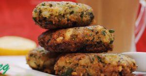Veg Poha Cutlet Recipe (Indian Vegetarian Tea Time Snack)