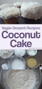 Vegan Dessert Recipes: Coconut Cake