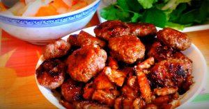 Vietnamese Grilled Pork With Vermicelli Recipe