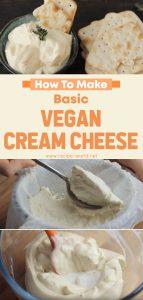 Basic Vegan Cream Cheese