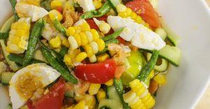 Corn & Cucumber Salad - Hot Thai Kitchen
