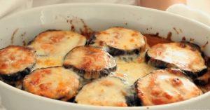 Lighter Eggplant Parmesan