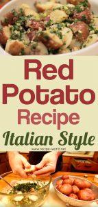 Red Potato Recipe - Italian Style
