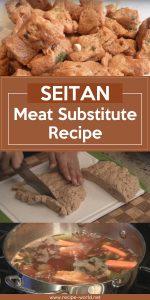 Seitan - Meat Substitute Recipe
