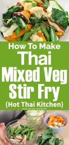Thai Mixed Veg Stir-Fry - Hot Thai Kitchen