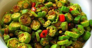 Vegetarian Curry Okra Recipe